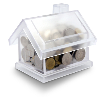 A house filled with coins
